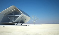 futuristic styled houses See the future: best futuristic styled houses California Roll House 031 234x141