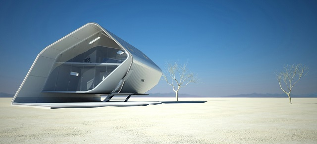 futuristic styled houses See the future: best futuristic styled houses California Roll House 031