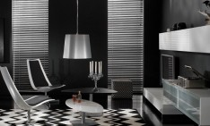 black bedroom Black bedroom: Create a dramatic and beautiful space Luxurious Black Living Room With Modern Furniture 234x141
