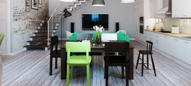 """Interior Design of a budget:small and huge"" Interior designs Interior designs on a budget: small and huge! 4 White green decor1"