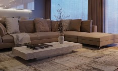 apartment designs Five fantastic apartment designs that you really have to see! 7 Taupe sofa1 234x141