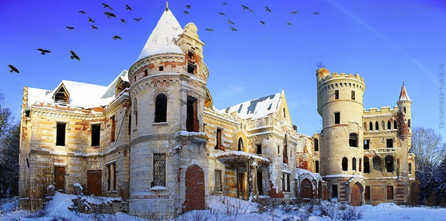 Muromtzevo-Mansion-Russia Friday the 13th