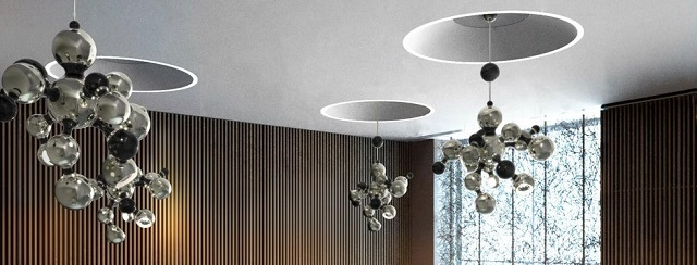 unique lamps Delightfull unique lamps: great ideas for your home multi light sculptural sphere pendant chandelier 05