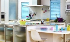 small kitchen How to decorate a small kitchen small kitchen interior white color look clean and fancy 945x7071 234x141
