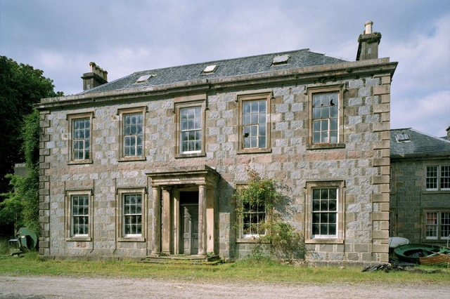 Callert-House-Scotland Friday the 13th