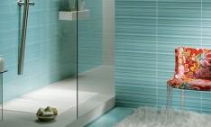 """Simple and easy bathroom organization ideas"" bathroom ideas Simple and easy bathroom ideas Elegant Bathroom Design with Minimalist Shower Area and Stunning Light Blue Pattern Tile Ideas 915x893 234x141"