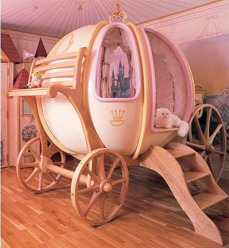"""""""5 good looking beds you have to see"""" outstanding beds outstanding beds 5 outstanding beds you have to see Cinderella Coach Bed"""