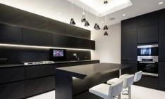 futuristic apartment Great looking futuristic apartment in Moscow geometrix design 71 234x141
