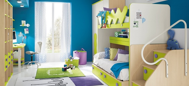 kid's bedrooms Colorful and modern kid's bedrooms 5 Kids room design1