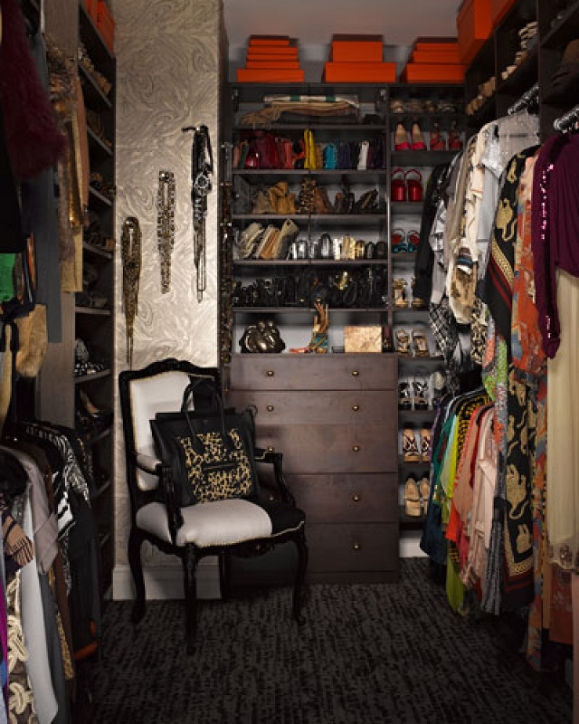 """Fantastic celebrity closets"""