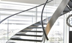 """Beautiful and modern staircase designs""  Beautiful and modern staircases designs Contemporary Staircase Design Ideas 051 234x141"