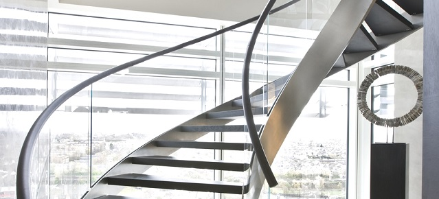 """Beautiful and modern staircase designs""  Beautiful and modern staircases designs Contemporary Staircase Design Ideas 051"