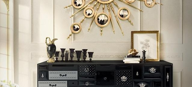 black themed decoration Transform your house with a black themed decoration mondrian by boca do lobo1