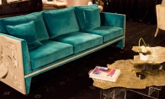 """The perfect sofas for your living room"" perfect sofas The perfect sofas for your living room teal blue versailles sofa monet center table boca do lobo 234x141"