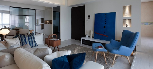 "Check these fantastic examples of asian minimalist style"" asian minimalist style Check these fantastic examples of asian minimalist style 20 Cream blue living room"