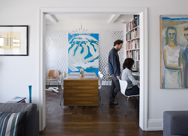 """""""Stylish home offices you have to see"""" home offices 5 stylish home offices you have to see abbink residence office dining room portrait"""
