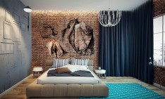 Take a look at this perfect small apartment New York Design Best New York design hotels 10 Wall mural 234x141