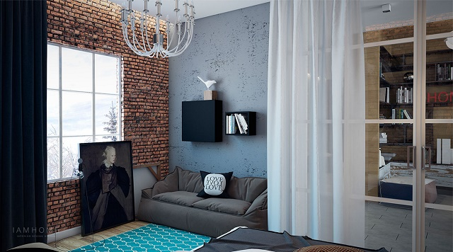 Take a look at this perfect small apartment small apartment The perfect example of a stylish small apartment 11 Modern eclectic living room