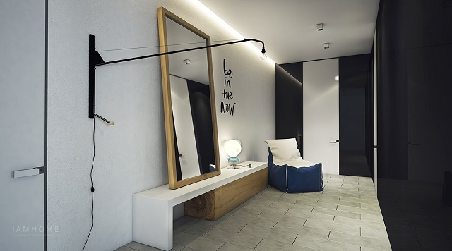 Take a look at this perfect small apartment small apartment The perfect example of a stylish small apartment 25 Wall lights