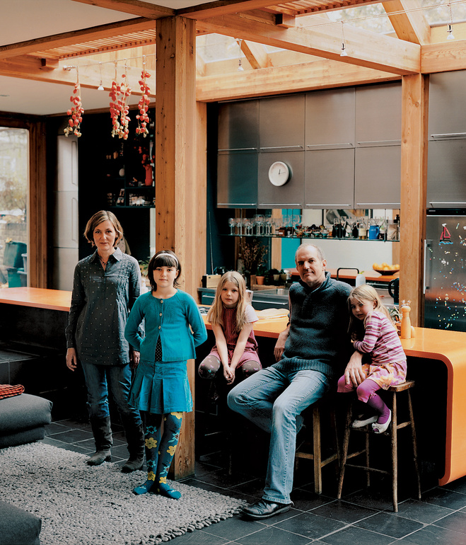 """""""Build a house for the family: 5 great family homes"""" boutique hotels TOP 5 best boutique hotels in the world lee hart house kitchen portrait"""