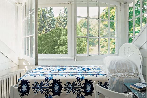 Elle Decor selects: nine outstanding summer bedrroms summer bedrooms
