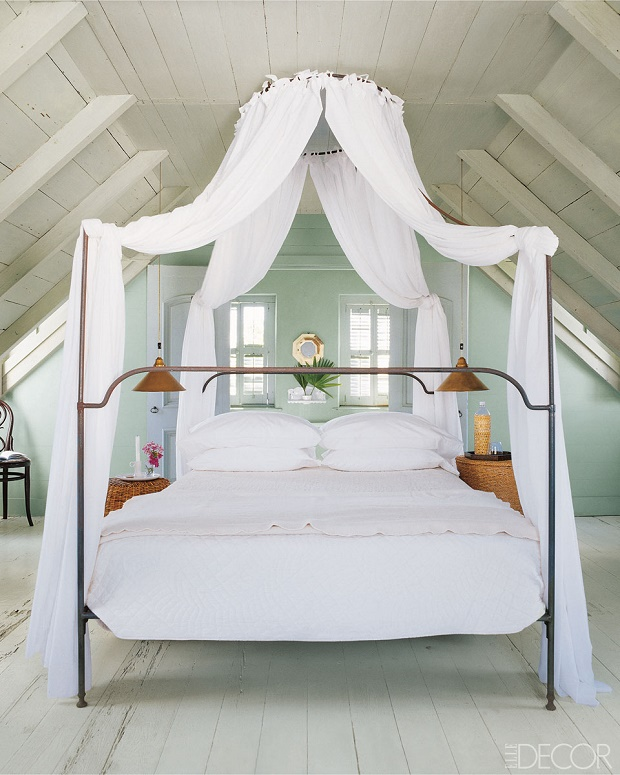Elle decor presents nine outstanding summer bedrooms for Elle decor beds