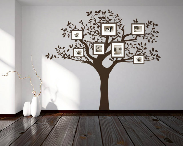 FAMILY TREE IN THE LIVING ROOM 10 THE BEST IDEAS (1)