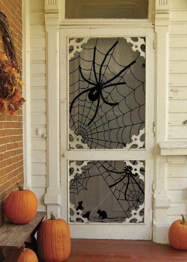halloween The best 20 front door decors for halloween 1