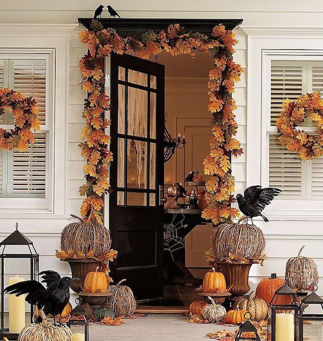 halloween The best 20 front door decors for halloween 19