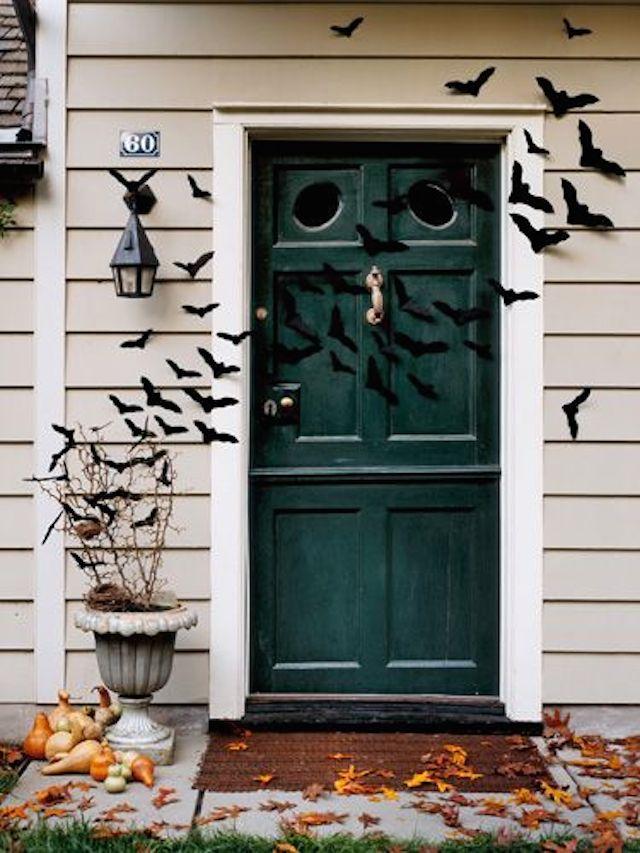 halloween The best 20 front door decors for halloween 3