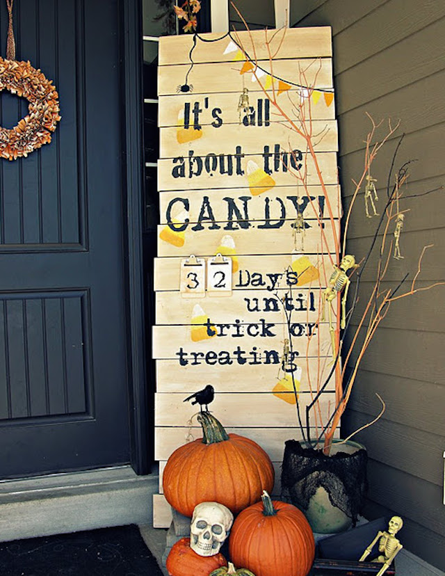 7 halloween The best 20 front door decors for halloween 7