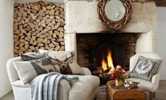 FALL 2014 TOP 10 HOME DESIGN IDEAS FOR FALL 2014 fireplace cozy home 16 234x141