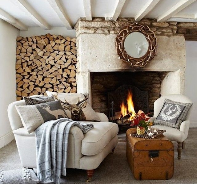 FALL 2014 TOP 10 HOME DESIGN IDEAS FOR FALL 2014 fireplace cozy home 16 640x600