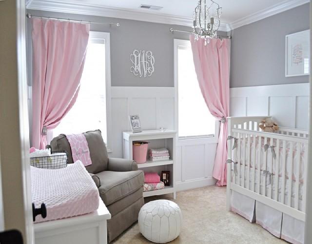 GREY & WHITE Baby Room