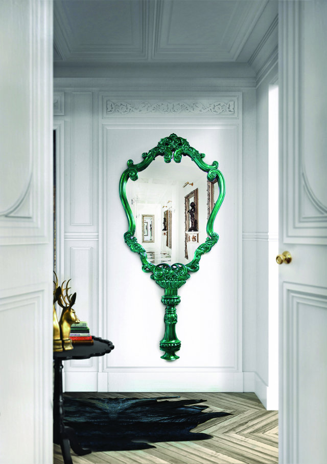 SMALL SPACES Create another window by placing a mirror next to or across from the real deal SMALL SPACES, HOME DESIGN IDEAS: 3 TIPS TO USE MIRRORS IN SMALL SPACES Mirrors In Small Spaces designinvogue interior design decorating