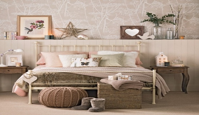 vintage bedrooms Top 4 great home design ideas: vintage bedrooms featured21