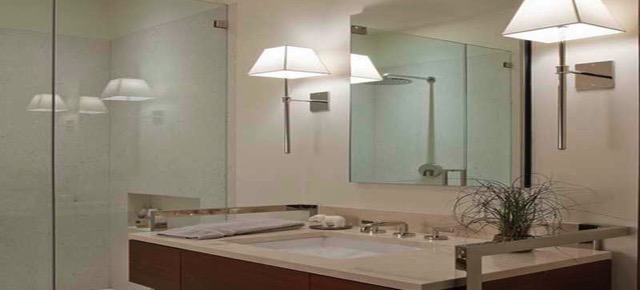 Bathroom Wall Choose the Perfect Lamp for your Bathroom Wall Modern Bathroom Wall Sconces Lighting with sink