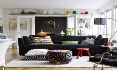 Interior design: Eclectic Style Showcase Of Living Room Interior Design 3 234x141