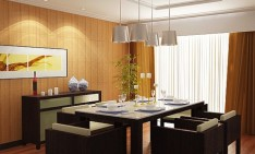 Dining Room Choose a Ceiling Light for your Dining Room interior inspiration charming white drum ceiling lights decors over modern dining table sets as well as portray added wall light fixture ideas in contemporary dining room designs 25 artistry and pict 234x141
