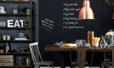 How to use copper lighting in a modern decor