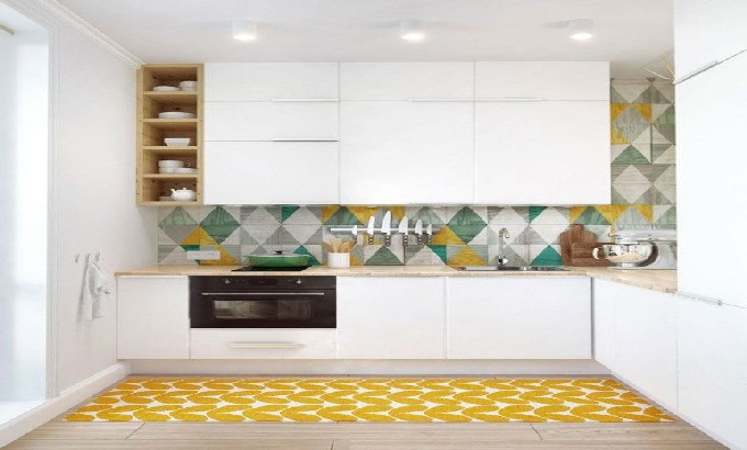 The best patterned tiles and wallpaper ideas for your kitchen 10 kitchen wallpaper ideas feat3