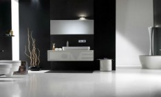Black Bathroom Design Inspiration Black Bathroom Theme Interior Design Elegant Luxurious Black White Themed Bathroom Design Ideas Interior Modern Minimalist Concept  234x141