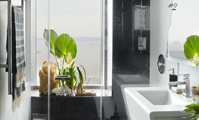 10 tips for the perfect bathroom by designer Neal Beckstedt and Elle Decor 10 tips for the perfect bathroom fea