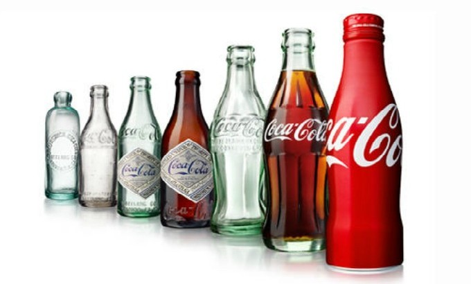 Coca-Cola's Bottle Celebrates 100 Years coca cola 100 years bottle feat