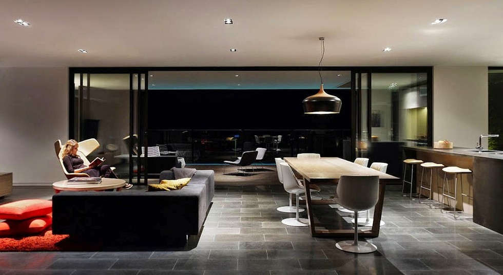 Modern suspesion lighting- black is always in our mind! fPdecor A G House 05