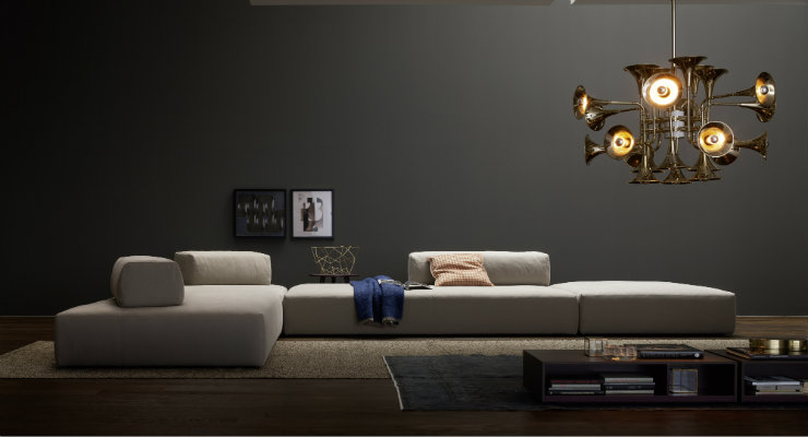 Luxury sofas for your living room 50 Shades of Grey 50 Shades of Grey – Some ideas to decor your home feat Luxury sofas for your living room