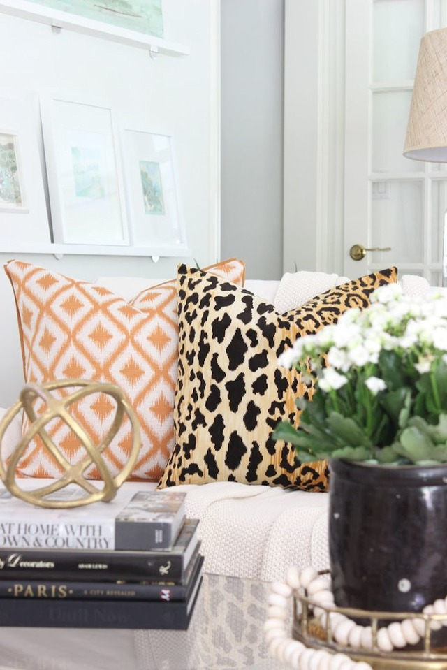 living rooms patterned pillows 6