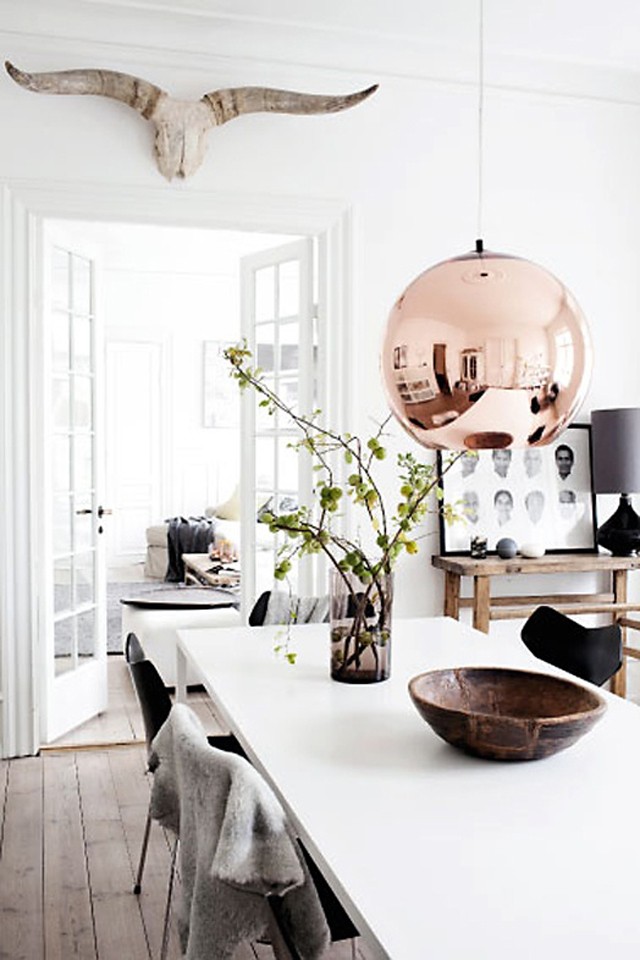 white dining rooms 10  Modern Decoration: 10 white dining rooms white dining rooms 10