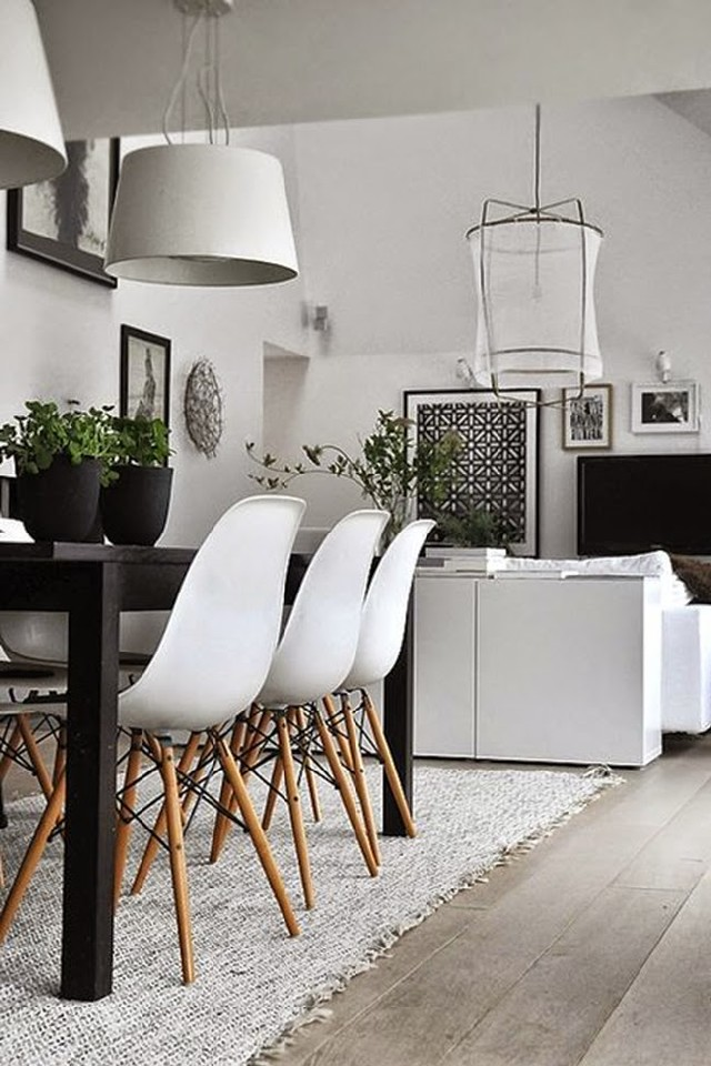 white dining rooms 2  Modern Decoration: 10 white dining rooms white dining rooms 2