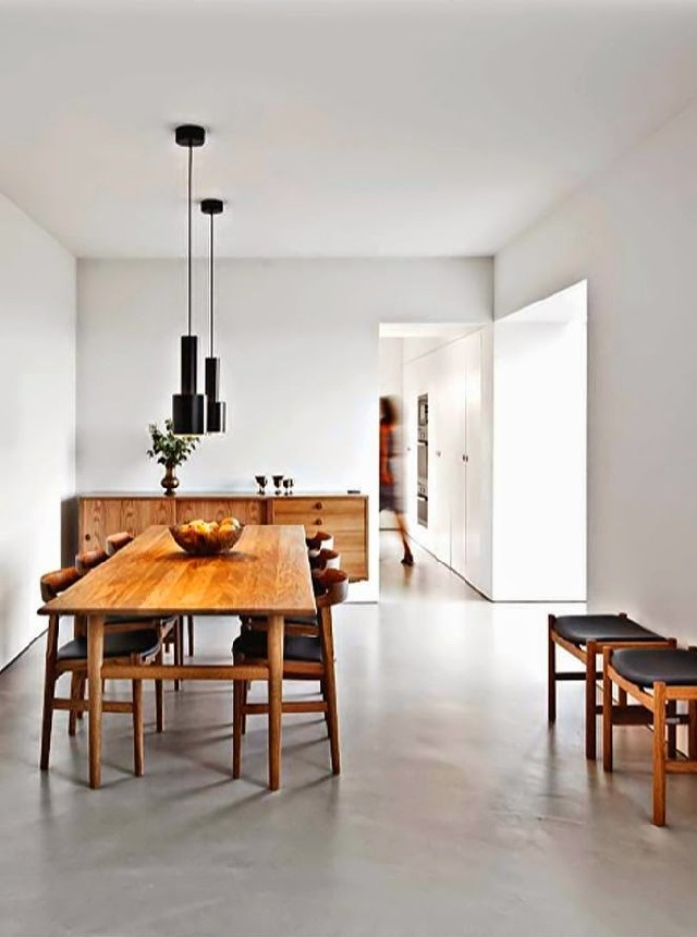 white dining rooms 3  Modern Decoration: 10 white dining rooms white dining rooms 3